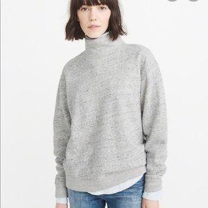 AF mock neck fleece sweat shirt